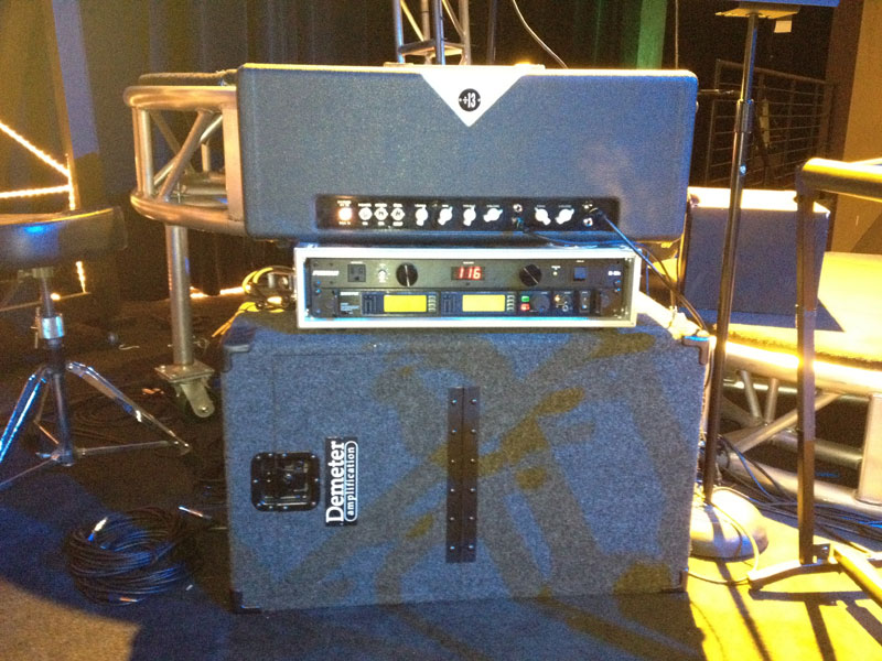 Guest Post: How to Use Amps and Iso Cabs on Stage (2/4)