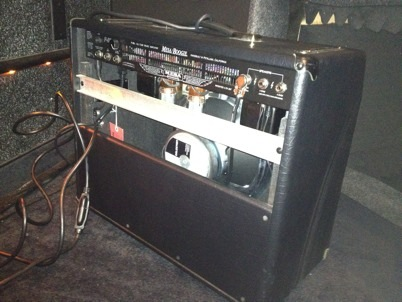 Mesa Boogie Amp back
