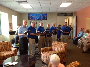 Live in the Lobby - April 14, 2013 - Men's Group